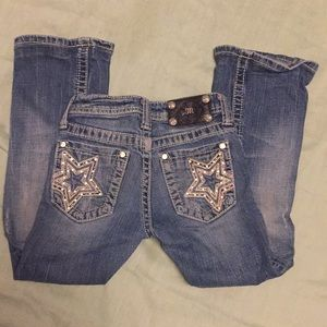 Miss Me jeans.Waist: 24/Inseam length: 22 1/2
